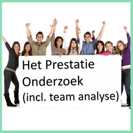 Het Prestatie Onderzoek (incl. team analyse)