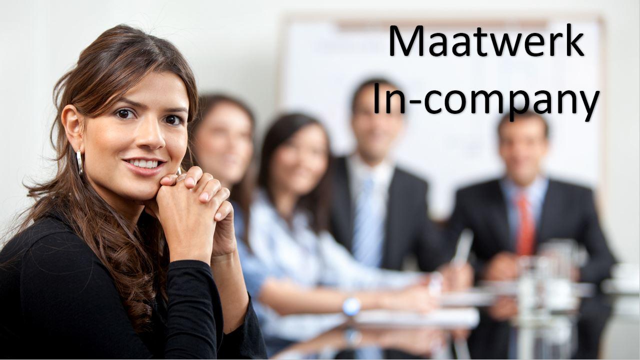 Maatwerk in-company trainingen