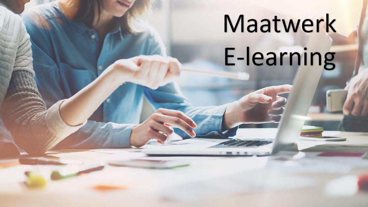 Maatwerk e-learning
