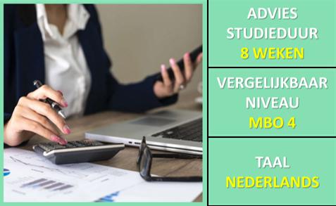 Cursus Bedrijfscalculatie uitbreidingsstof + examentraining Basiskennis Calculatie