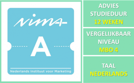 NIMA Sales A versneld in een Blended Learning variant