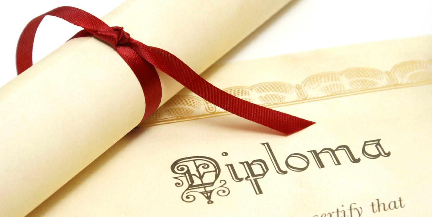 Opleidingen met erkend diploma