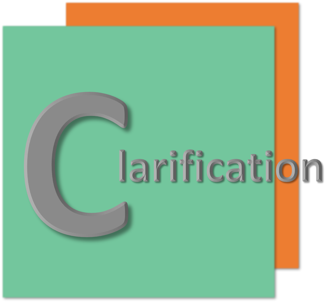 Clarification onboarding